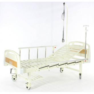 Кровать c механ.приводом Belberg 17B-1Л, 1 функция, пластик (без матраса+столик) в Екатеринбурге