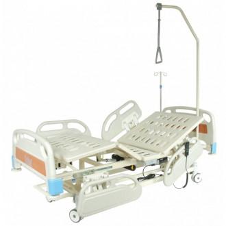 Кровать функциональная с электроприводом Belberg-3-79 с выдвиж.ложементом (5 функ) (CPR+аккум) в Екатеринбурге