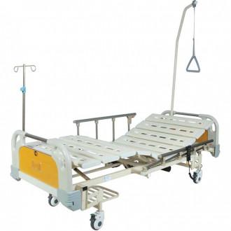 Кровать функциональная с электроприводом Belberg 6-67 (2 функции) с ростоматом, (без матраса) пластик в Екатеринбурге