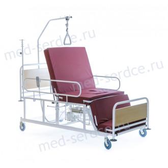 Электрическая медицинская кровать с кардио-креслом Belberg 4-02 с санитарным оснащением в Екатеринбурге
