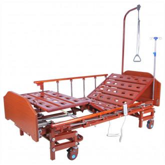 Кровать с электроприводом Belberg 6-066H, 3 функц. с ростоматом ЛДСП (без матраса+столик) в Екатеринбурге