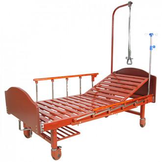Кровать с механ.приводом Belberg 17B-01H, 1 функция ЛДСП (без матраса + столик) в Екатеринбурге