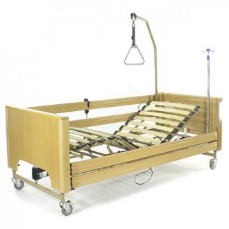 Кровать с электроприводом Belberg 1-194ДЛК, 5 функц. ДЕРЕВО (матрас) в Екатеринбурге