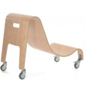 Мобильная деревянная база для кресла Special Tomato Sitter в Екатеринбурге