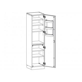 Шкаф медицинский МШ-1-01 без сейфа для медикаментов в Екатеринбурге
