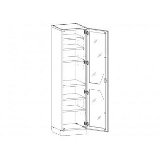 Шкаф медицинский МШ-1-04 для медикаментов в Екатеринбурге
