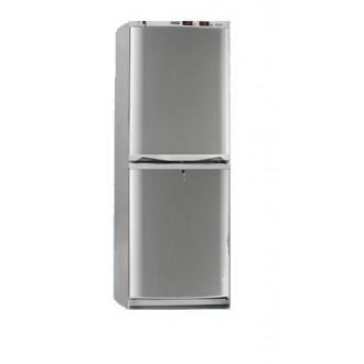 Холодильник фармацевтический двухкамерный ХФД-280 (140/140 л) с дверями из металлопласта серебряного цвета в Екатеринбурге