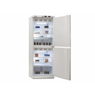 Холодильник фармацевтический двухкамерный ХФД-280 (140/140 л) с металлическими дверями в Екатеринбурге
