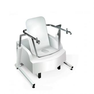 Медицинская гинекологическая сидячая ванна с подъемником Модель 2.9-4 в Екатеринбурге