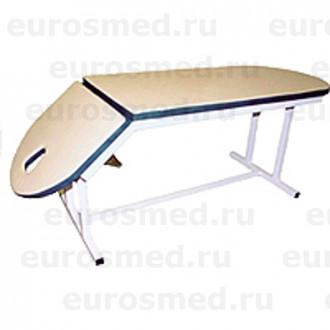 Массажная кушетка с опускающимся подголовником MedMebel №10 в Екатеринбурге