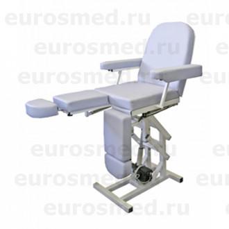 Педикюрное кресло MedMebel №3м с четырьмя электроприводами в Екатеринбурге
