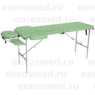 Массажный стол MedMebel №52 с подголовником и подлокотниками в Екатеринбурге