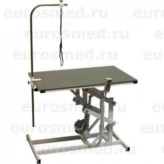Стол ветеринарный универсальный для груминга СВУ с электроприводом и полимерным покрытием в Екатеринбурге