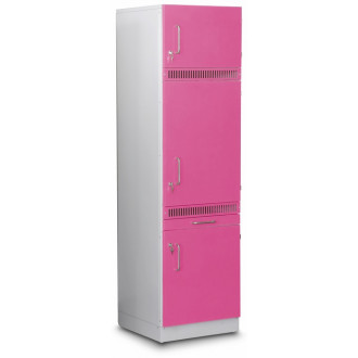 Шкаф медицинский  высокий для хранения медикаментов (для установки встроенного холодильника) в Екатеринбурге