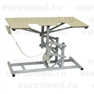 Стол ветеринарный универсальный СВУ-19 э/привод для УЗИ и эхо процедур в Екатеринбурге