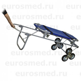 Тележка ветеринарная с носилками ПВХ, со строенными колесами СВУ-20.12 в Екатеринбурге