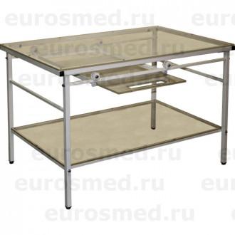 Стол ветеринарный СВУ-23 для рентгена с выдвижной полкой в Екатеринбурге