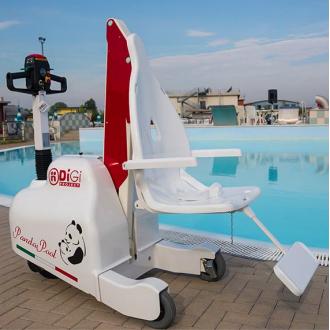Подьёмник для бассейна и набережной DiGi PandaPool  в Екатеринбурге