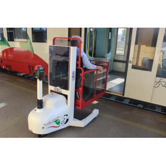 Мобильный подъёмник для железных дорог DiGi PandaStation в Екатеринбурге