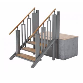 Лестница-трансформер FlexStep V2 / 4 ступеньки / высота подъёма до 925 мм в Екатеринбурге