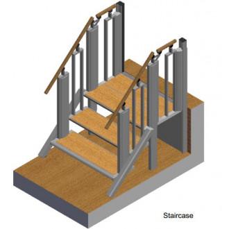 Лестница-трансформер FlexStep V2 / 3+1 ступеньки / высота подъёма до 740 мм в Екатеринбурге